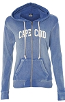 CAPE COD ANGEL FLEECE LADY'S ZIP HOOD