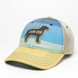 CAPE COD DOG HAT MULTI COLOR