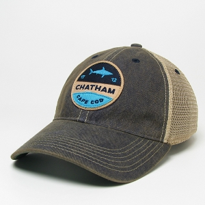 CHATHAM PIN BACK SHARK