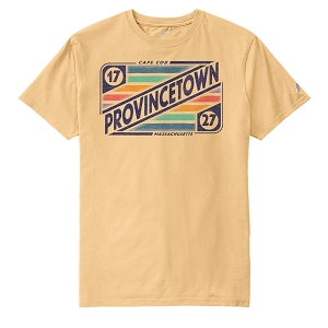 PTOWN MIXTAPE TEE VEGAS GOLD