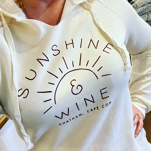 Sunshine And Wine Cream Hood