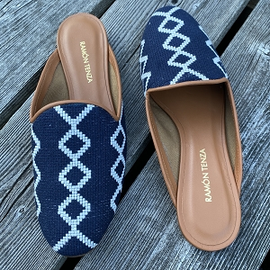 Grace Slip On Navy Americana