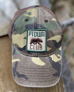 BEAR CLUB CAMO HAT