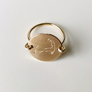 CAPE COD RING 14K GOLD FILLED