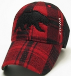 Plaid Bear Hat